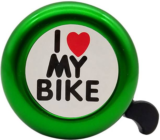 THE MORNING PLAY I Love My Bike Green Cycle Bell