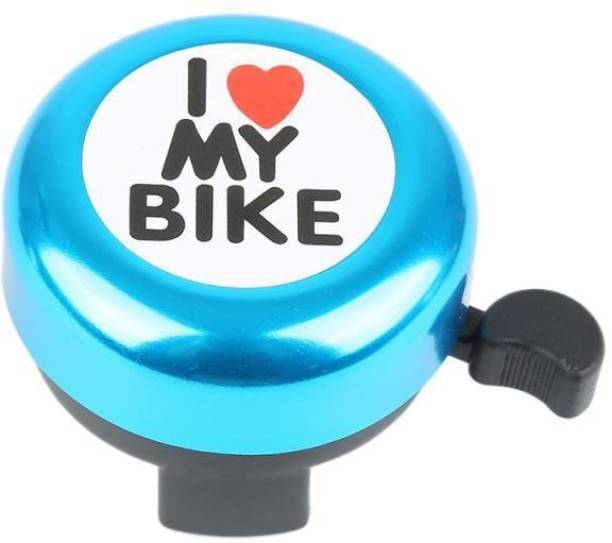 THE MORNING PLAY I Love My Bike Blue Cycle Bell