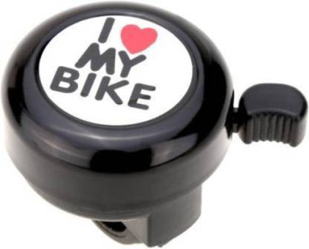 THE MORNING PLAY I Love My Bike BLACK Cycle Bell