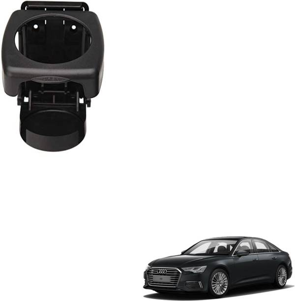 SEMAPHORE High Quality Black Foldable Drink Holder For AUDI A6 Car Bottle Holder