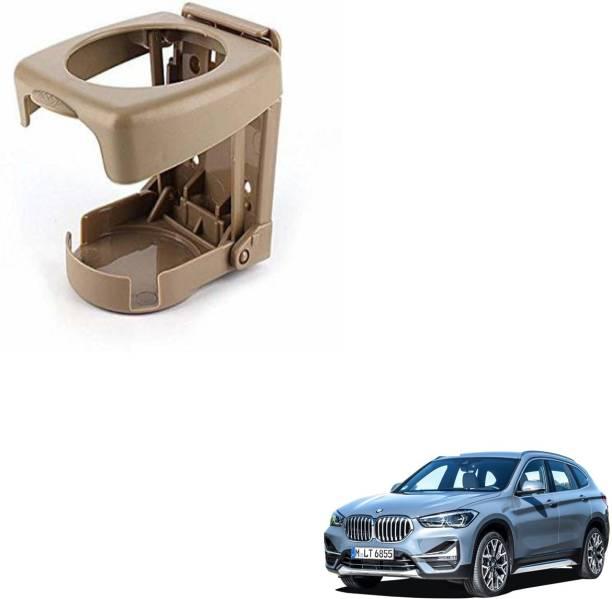 SEMAPHORE High Quality Foldable BEIGE Drink Holder For BMW X1 Car Bottle Holder