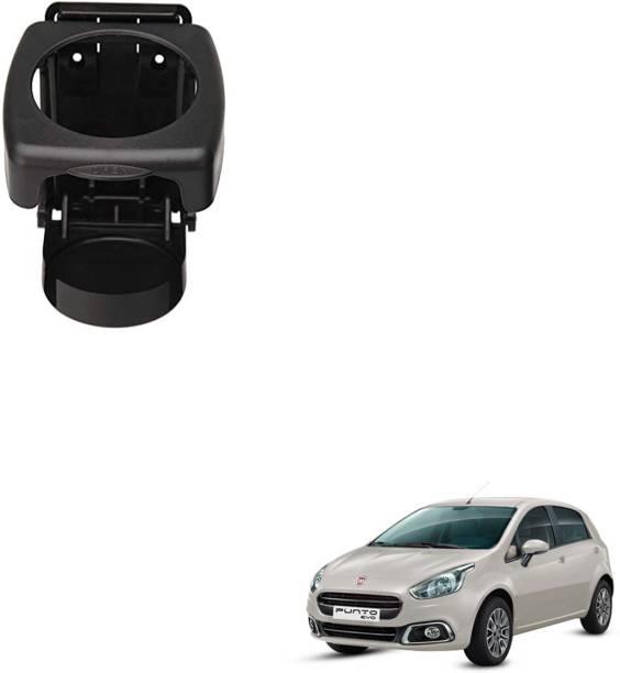 SEMAPHORE High Quality Black Foldable Drink Holder For FIAT PUNTO EVO Car Bottle Holder