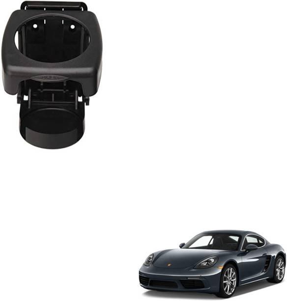 SEMAPHORE High Quality Black Foldable Drink Holder For PORSCHE CAYMAN Car Bottle Holder