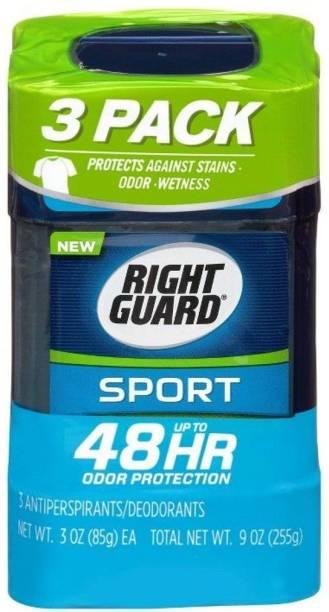 RIGHT GUARD Sport Fresh Antiperspirant & Deodorant Gel /3pk Deodorant Gel  -  For Men & Women