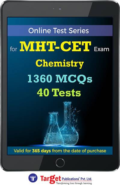 Target Publications MHT CET Chemistry Online Test Series | Practice 1360 MCQs | Chapterwise, Topicwise Questions and Model (Mock) Tests with Solutions | Engineering, Pharmacy