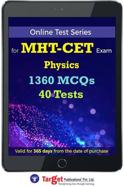 Target Publications MHT CET Physics Online Test Series | Practice 1360 MCQs | Chapterwise, Topicwise Questions and Model (Mock) Tests with Solutions | Engineering, Pharmacy