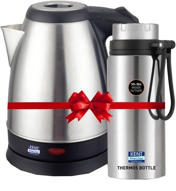 KENT 16091 700 ml Bottle and Vouge Electric Kettle