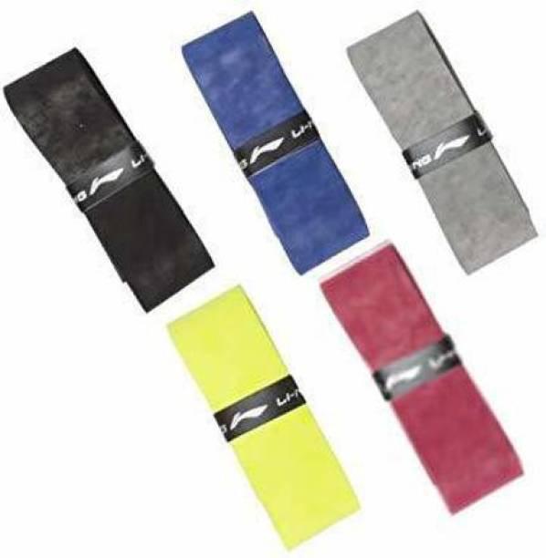 LI-NING Velvet Touch SuperGrip Badminton Racquet Grip multi colour Tacky Touch