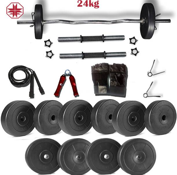 Lycan 24 kg home gym combo with gear's Home Gym Combo