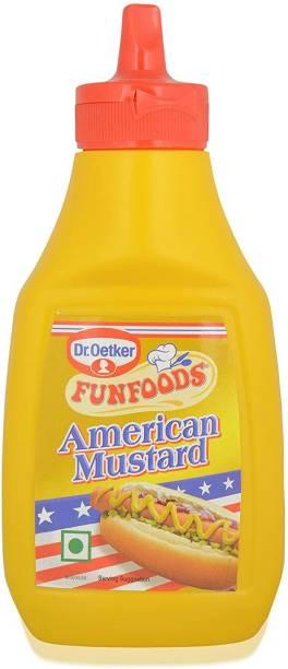 FUN FOODS American Mustard 260 g