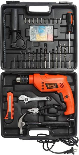 Black + Decker HD555KMPR-B1 HD555KMPR-B1 Pistol Grip Drill