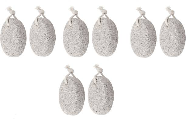 quadronic Pumice Stone Foot Feet Body Cleaning for Man and Women Combo | Set of 8