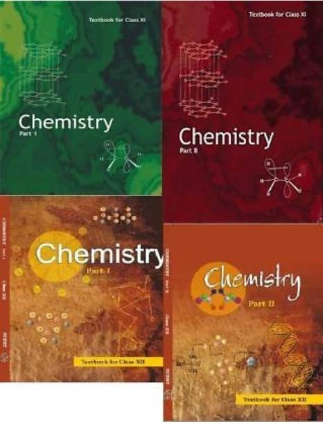 NCERT Textbook (Chemistry ) For Class 11th And 12th (Combo Set, )