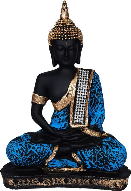 Royalbox Vastu Fangshui Religious Idol of Lord Gautama Buddha Statue Decorative Showpiece  -  22 cm
