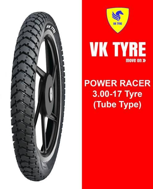 VK TYRE POWER RACER 3.00-17 Rear Tyre
