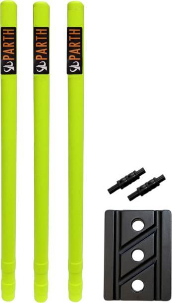 Parth Electronics Plastic wicket set Floro Export Quality