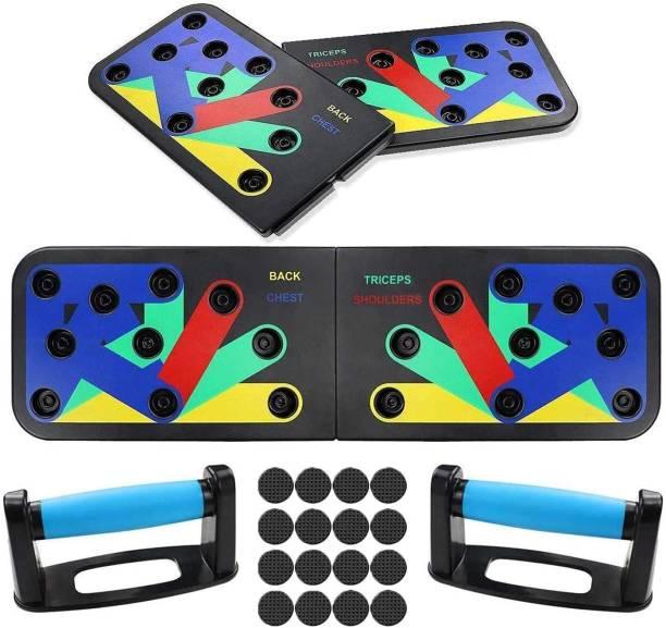 VRJTEC Foldable Pushup Board For Exercise Push-up Bar