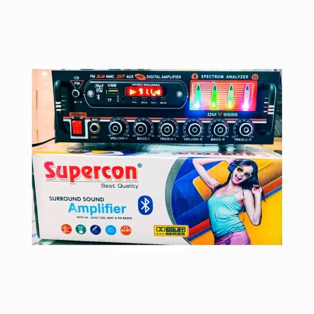 SUPERCON Stereo Amplifier 1003 With USB/FM/SD CARD/BLOOTHUTH Multi Class AB Car Amplifier