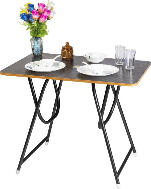 Patelraj Folding Solid Wood 2 Seater Dining Table