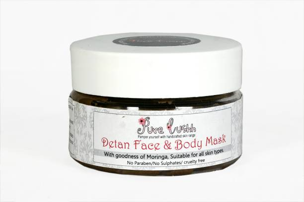 Pure Lushh Detan body and face mask
