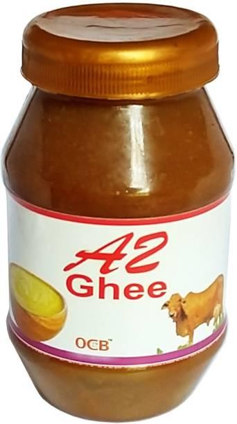 OCB A2 Pure Ghee | 100% Desi Gir Cow | Vedic Bilona Method (Village Made Desi Cow Milk Ghee) Ghee 250 g Plastic Bottle