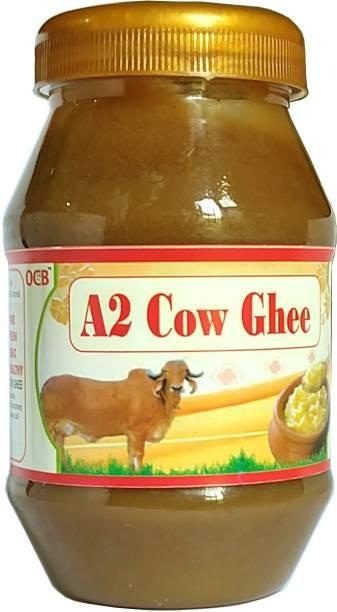 OCB A2 Cow Ghee, from Cow Milk (Village Made Desi Cow Milk) Ghee 250 g Plastic Bottle