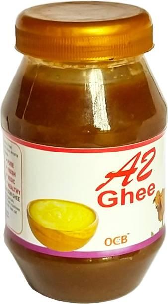 OCB Grass Fed A2 Yak Ghee Prepared by Traditional Method (Village Made Desi Cow Milk Ghee) Ghee 250 g Plastic Bottle
