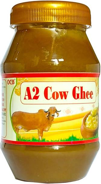OCB 100% Pure A2 Gir Cow Desi Ghee (Home Made Desi Cow Milk) Ghee 250 g Plastic Bottle