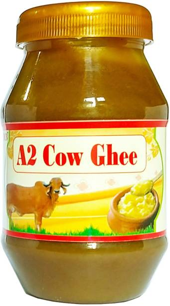OCB A2 Desi Cow Ghee 100% Pure and natural (Home Made Desi Cow Milk) Ghee 250 g Plastic Bottle