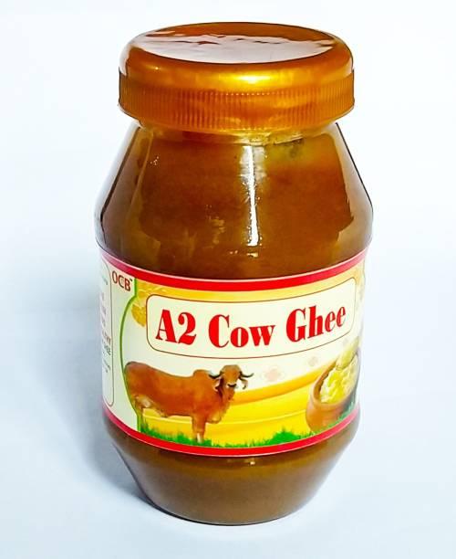 OCB 100% Pure A2 Gir Cow Desi Ghee (Hand & Home Made Desi Cow Milk Ghee) Ghee 250 g Plastic Bottle