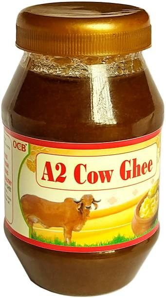 OCB A2 Cultured Desi Cow Ghee (Made By Desi Cow Milk) Ghee 250 g Plastic Bottle