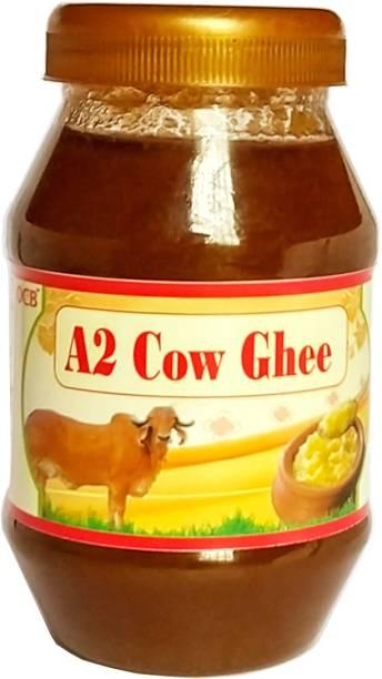 OCB Grass Fed Cow A2 Ghee (Village Made Desi Cow Milk) Ghee 250 g Plastic Bottle