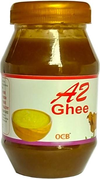 OCB A2 Cow Ghee, Made from Pure A2 Cow Milk of Rathi and sahiwal cow (Village Made Desi Cow Milk Ghee) Ghee 250 g Plastic Bottle