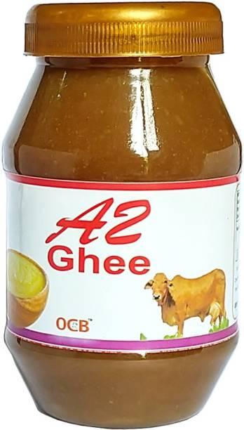 OCB A2 Gir Cow Ghee - Pure Desi Ghee (Village Made Desi Cow Milk Ghee) Ghee 250 g Plastic Bottle
