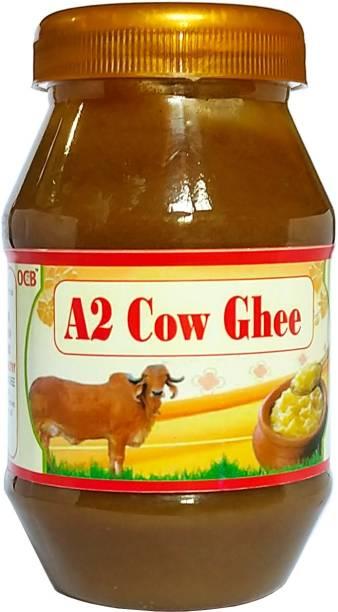 OCB Grass Fed Cow A2 Ghee (Desi Cow Milk) Ghee 250 g Plastic Bottle