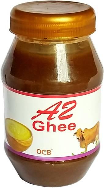 OCB A2 Desi Cow Ghee Grass-Fed Desi Cow Milk Ghee 250 g Plastic Bottle