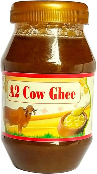 OCB 100% natural A2 gir Cow Ghee (Made By Desi Cow Milk) Ghee 250 g Plastic Bottle