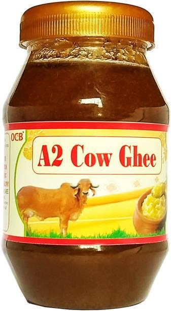 OCB GIR COW PURE A2 GHEE (Village Made Desi Cow Milk) Ghee 250 g Plastic Bottle
