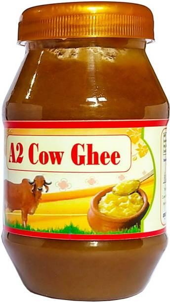 OCB Indian A2 Cow Ghee 100% Pure (Home Made Desi Cow Milk) Ghee 250 g Plastic Bottle