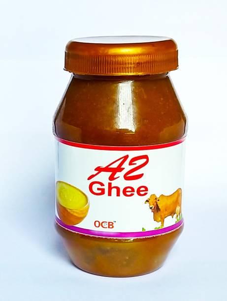 OCB 100% Pure A2 Gir Cow Desi Ghee (Hand & Home Made Desi Cow Milk Ghee) best Ghee 250 g Plastic Bottle
