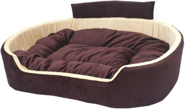 Little Smile luxurious Bed for Dog and Cat ,Reversible. M Pet Bed