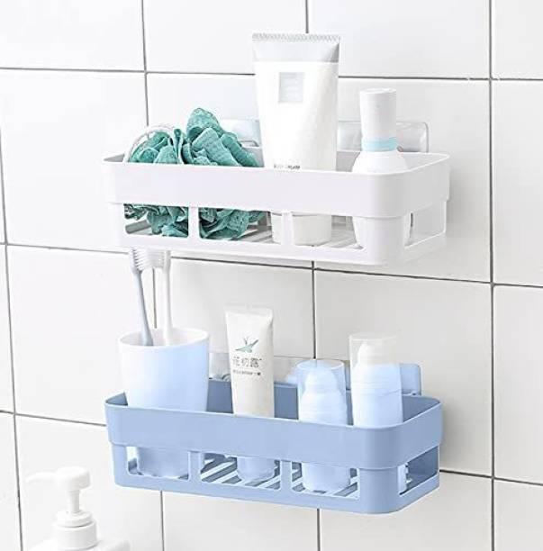 AKSHARAMRUTAM Plastic Wall Shelf