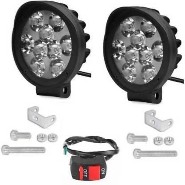 Dvis 9L 27W Fog Lamp, Headlight Car, Truck, Van, Motorbike LED (12 V, 27 W)