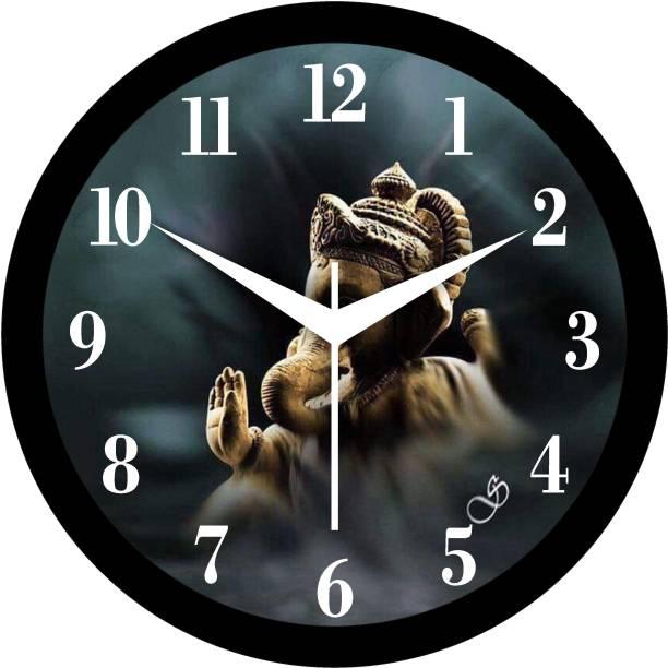 Shree Krishna Collections Analog 26 cm X 26 cm Wall Clock