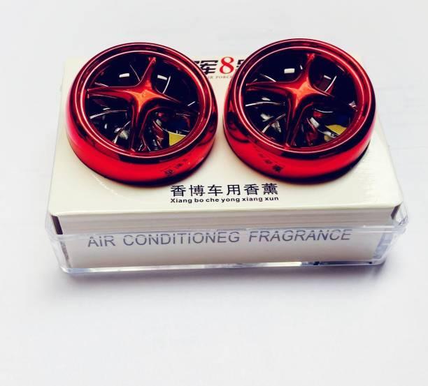 RohanEshop Car Air Freshner with Spinning Fan Car Air Purifier