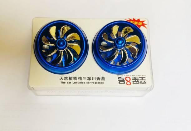 RohanEshop Car Air Freshner With Spinning Fan Portable Car Air Purifier