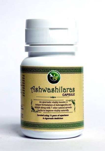 Dravya Ashwashilaras - Ayurvedic Power of (Shilajit & Aamla) For Stamina and Energy, Healthy Testosterone