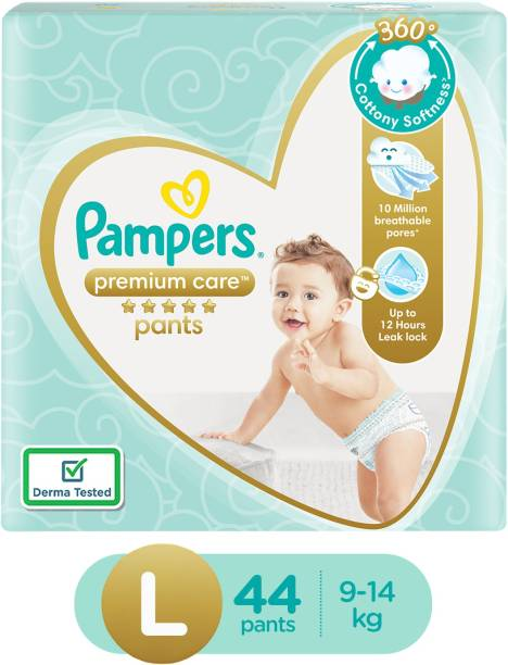 Pampers Premium Care Diapers - Large - L