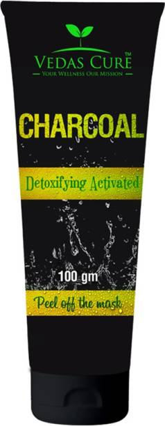 vedas cure Charcoal Peel Off Mask