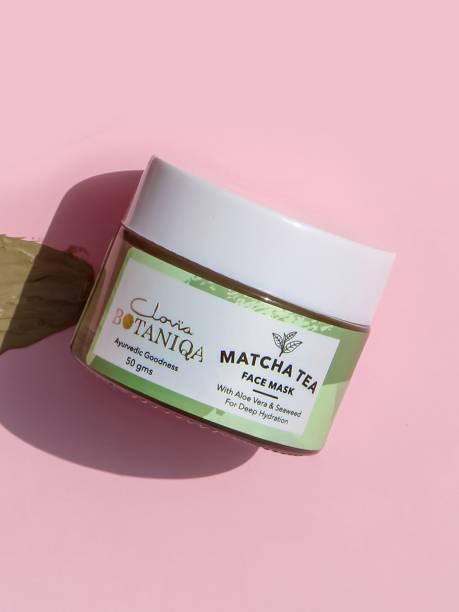 Clovia Botaniqa Matcha Green Tea Hydrating Face Mask